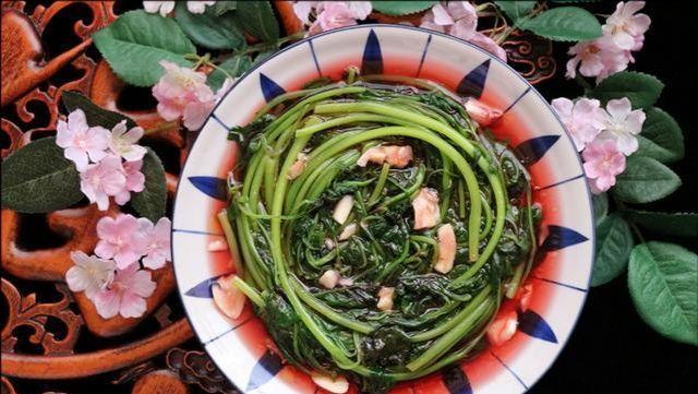 夏天就该吃这菜,钙是菠菜3倍,钾是菠菜2倍,爱出汗的人多吃点