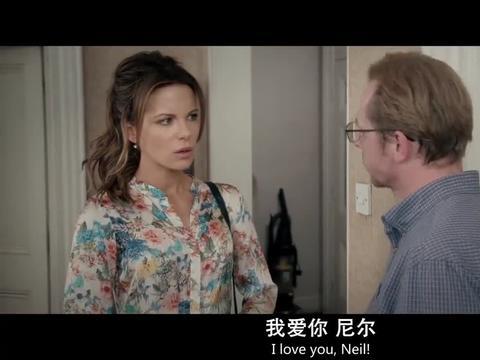丹尼斯在房中向尼尔示爱,被美女误会,尼尔想解释却越描越黑