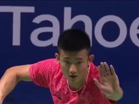 羽毛球:17年中国公开赛,谌龙 VS 安塞龙,龙哥极致防守!