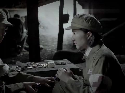 三八线:妇女撑起半边天!貌美女兵心地善良,还帮着战士填充弹夹