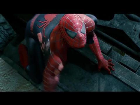 沙人毒液大战蜘蛛侠,蜘蛛侠被压制,两人竟这么厉害