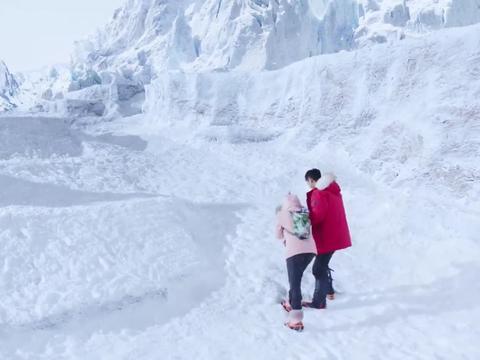 墨白带着梦言去爬雪山,旧地重游回忆起很多事