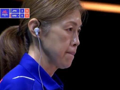 日本女排拿下第12场胜利,二队练兵效果佳!中田久美淡定