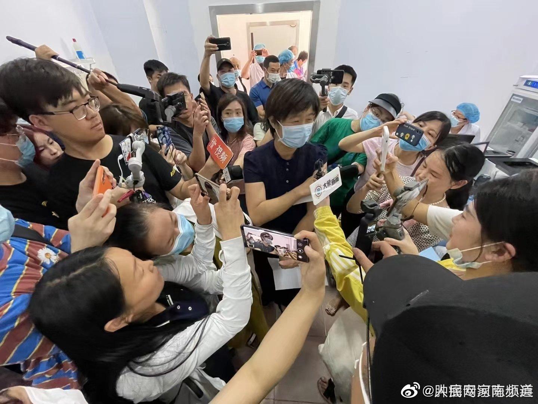河南籍奥运会网球女双冠军孙甜甜……