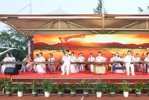 潍坊市奎文区圣卓实验学校举行庆祝建党百年艺术展演活动
