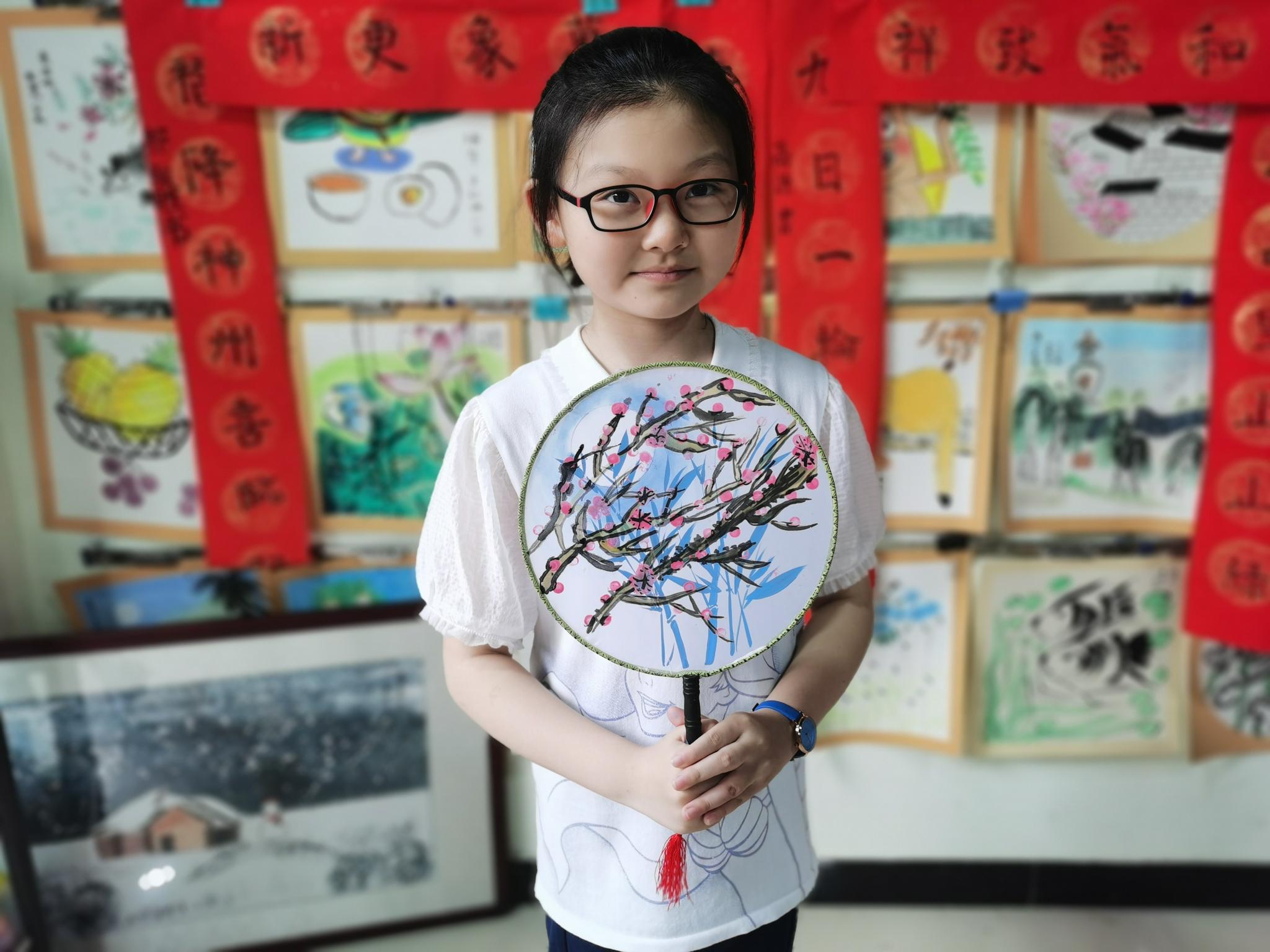 儿童水墨画分享:太有趣了,孩子们画的国画真有趣!