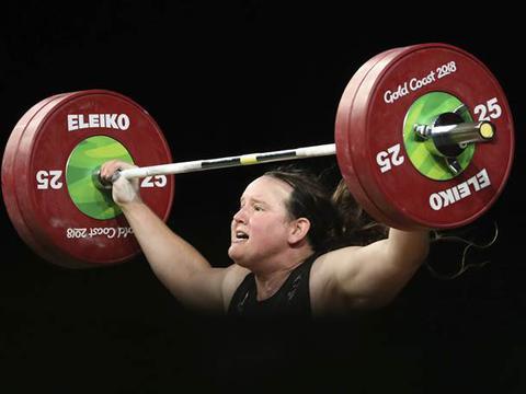 新西兰举重女将创纪录!