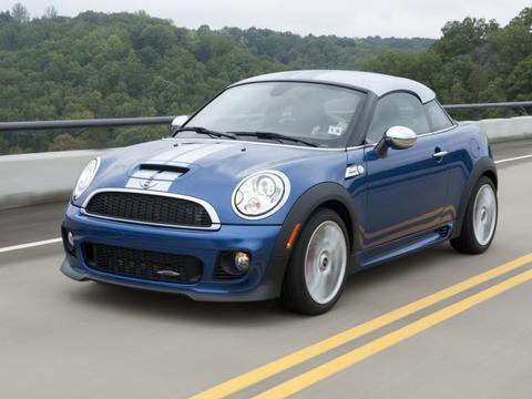 """从设计图看MINI Coupe,""""小帽子""""是亮点也是痛点"""