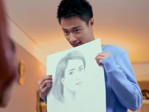 搞艺术的男生,就是能讨女孩欢心,素描了解一下!