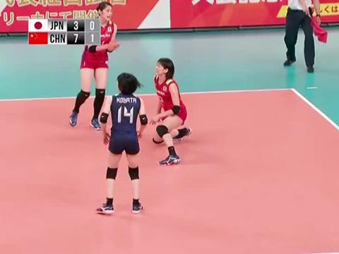 中国女排 :丁霞颜妮二八连线,日本女排只能望球兴叹了!