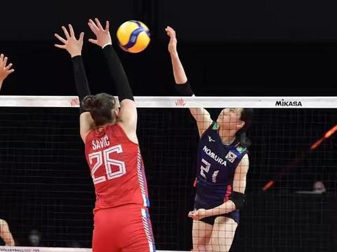 世联赛第15轮,日本女排拿到第12场胜利,韩国3胜12负泰国2胜13负