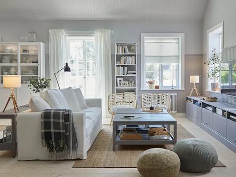 客厅的沙发要不要靠墙,好处劣处都会有,就看客厅是怎么样的