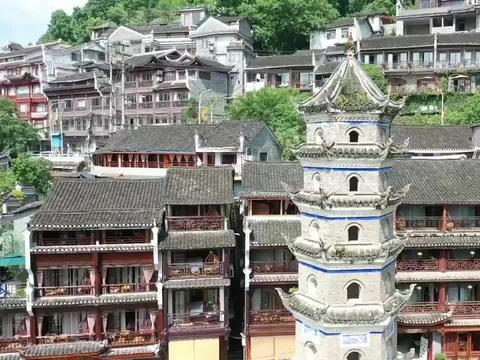自驾旅行湖南凤凰古镇,10年后故地重游,记忆还是如此的深刻
