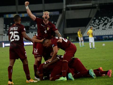 美洲杯最新积分战报:委内瑞拉补时绝平,哥伦比亚爆冷1-2落败