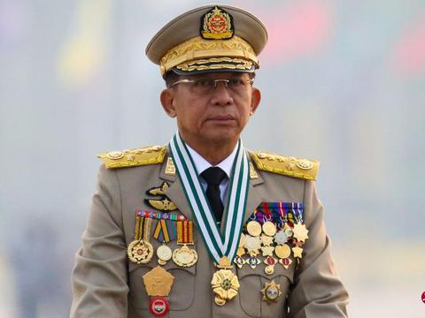 联合国吁对缅停运武器后,敏昂莱受邀前往俄罗斯出席安全会议
