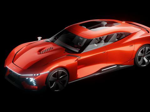炫酷外观真拉风,起亚全新电动车渲染图曝光,四门轿跑设计