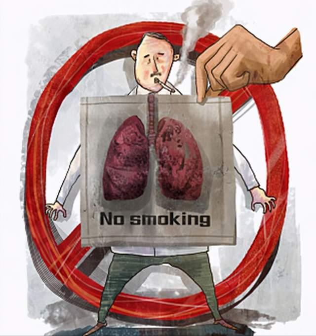 好烟的人,吸烟后有3种情况,马上戒烟