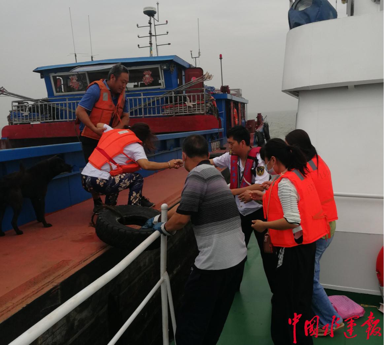 常熟海事局迅速反应及时救助患病船员