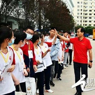 暖心!忻州十一中校长为考生鼓劲加油