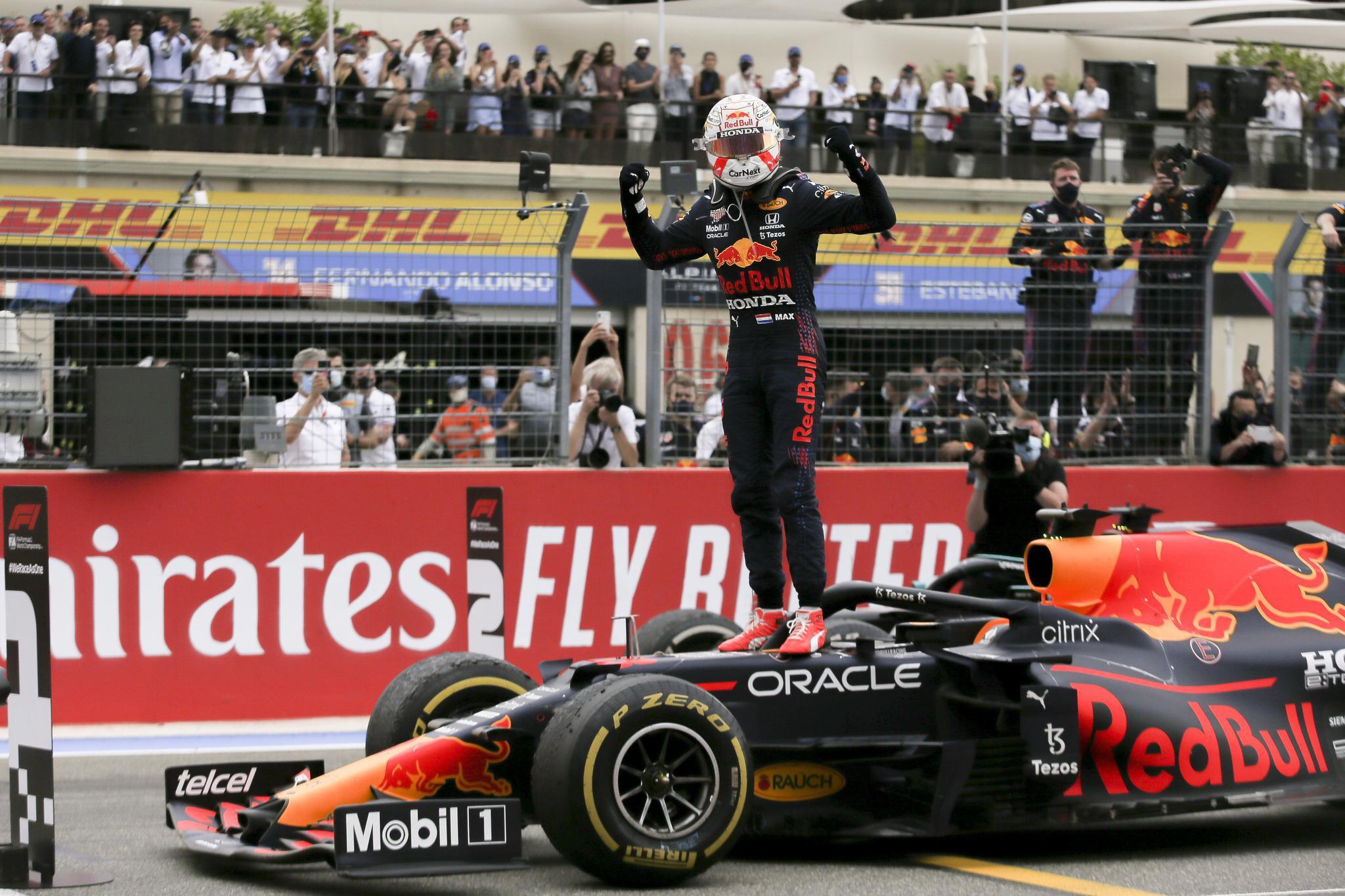 赛车——F1法国大奖赛:维斯塔潘夺冠