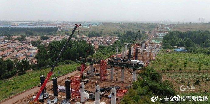 济青中线高速公路建设提速,力保2022年底顺利通车