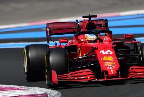 法拉利F1车队遇到了前轮磨损过度的问题,导致法国站双车零分完赛