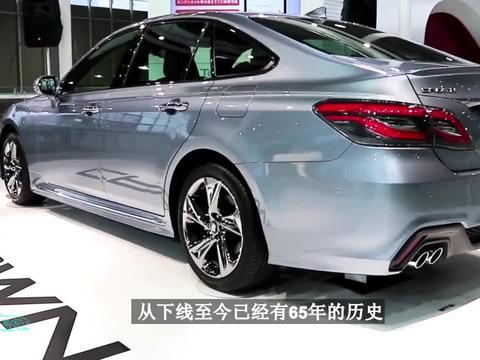2022丰田皇冠上市!新车比宝马7系漂亮,23万要啥大众辉昂、本田