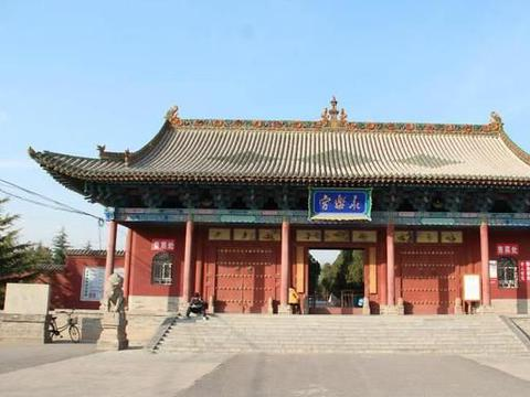 山西永乐宫:堪称中国壁画的宝库,十分珍贵