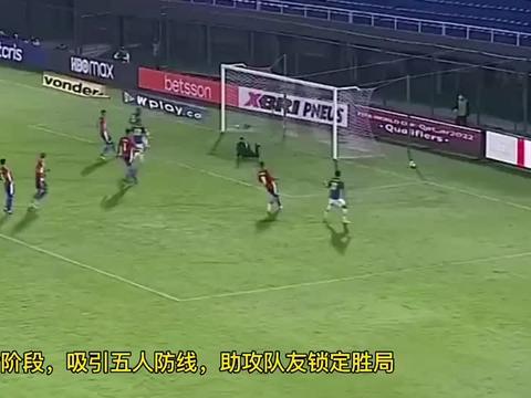 内马尔超越大罗, 世预赛两场造4球, 闪击破门, 单挑5人助绝杀