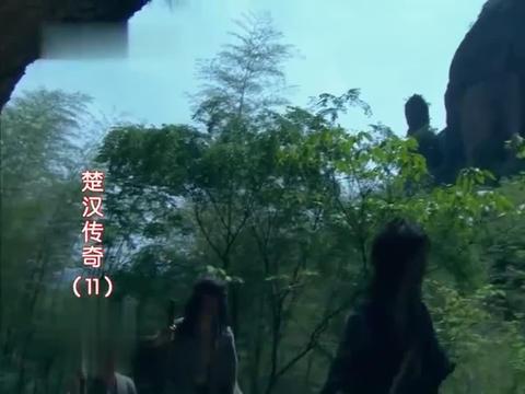 楚汉传奇:卢绾讲述的故事是刘邦斩白蛇起义的桥段吗?