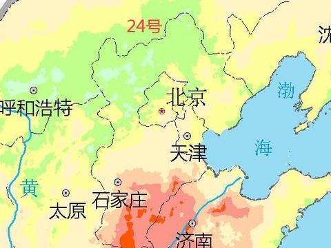 小雨中雨大雨将分布在河北下列地区