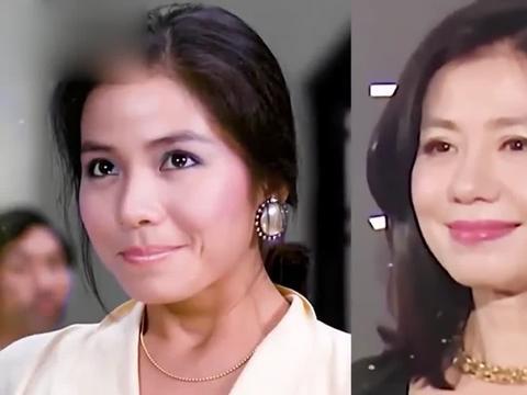 18位60后女星今昔对比,关之琳出道40年容颜未改,岁月从不败美人