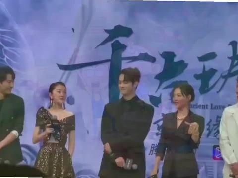 上海电影节闭幕式,满脸笑容气质也很超群
