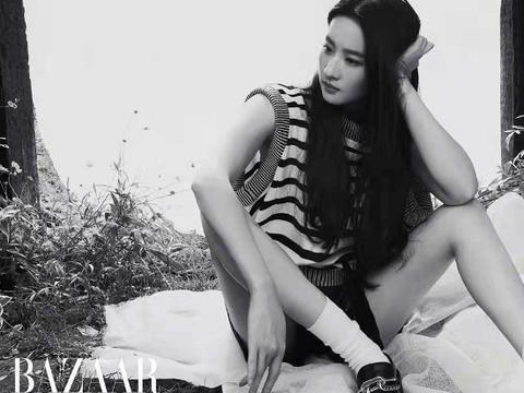 刘亦菲真是LV心尖宠新大片穿红纱羽毛裙牛奶肌吸睛,超有国际范
