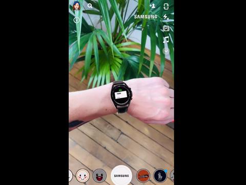 三星与Snapchat合作,为用户提供Galaxy Watch 3 AR试戴