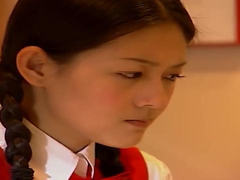 流星花园:杨丞琳16岁时饰演的小优,也太清纯可爱了,好青涩!