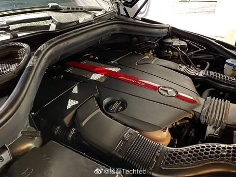 奔驰GLE43 AMG刷ECU改装电脑德国Techtec动力升级ECU程序