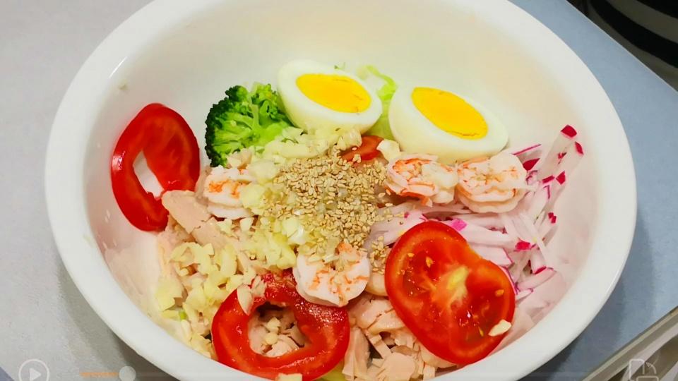 无油低脂捞汁,营养高又减脂,不饿肚子也能瘦