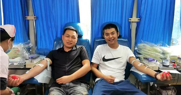 鹤城区组织开展无偿献血活动