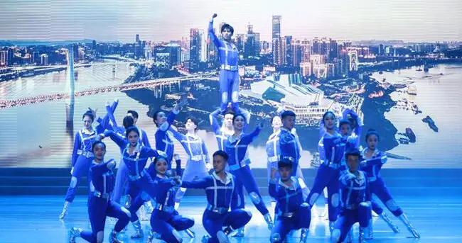 献礼建党百年 重庆两江新区这场文艺演出科技感满满