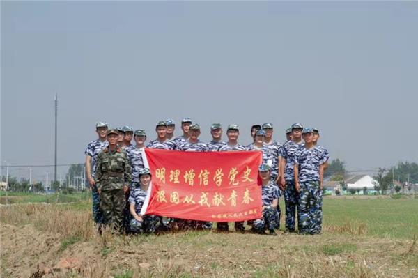 泗洪孙园镇:创新宣传形式激励有志青年从军报国