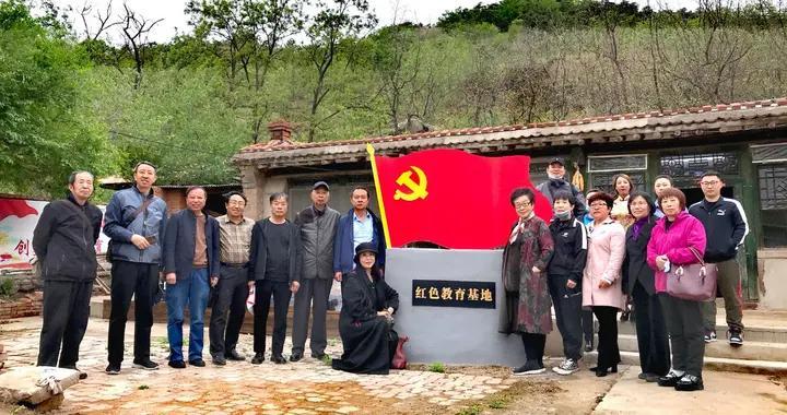 锦州医科大学附属一院与锦州义勇军研究会联办农家院红色教育基地