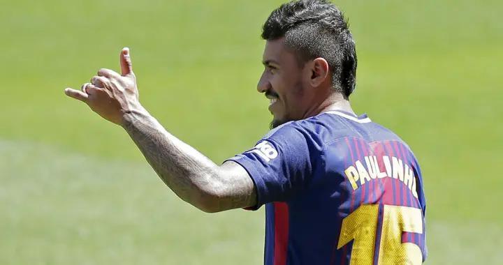前巴塞罗那队球员保利尼奥与广州恒大终止合同