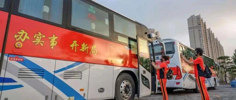 """锦州开通40辆""""红色教育主题大巴"""",欢迎乘坐!"""