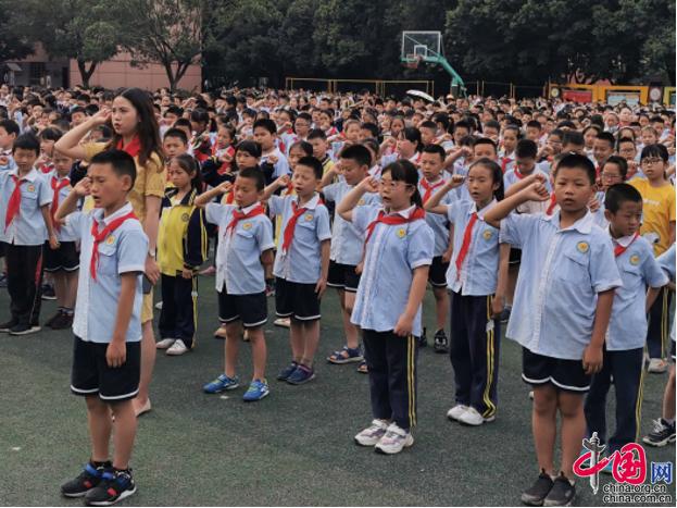 共享无毒健康人生 成都龙泉驿西河小学开展禁毒宣传系列活动