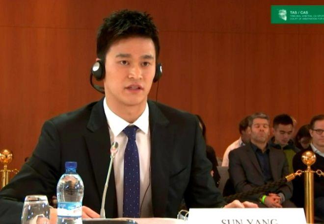 孙杨专心备战冠军赛至今仍训练 再等三年打击沉重