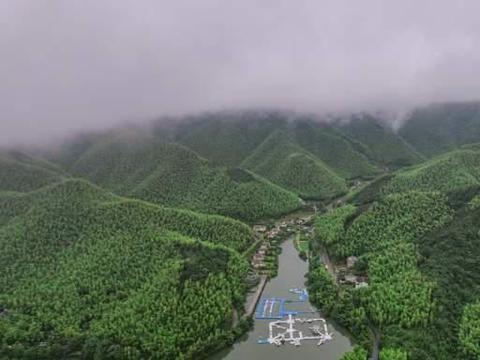 杭州出发两小时避暑度假胜地,星潮营地亲子游,竹尖漂流激爽一夏