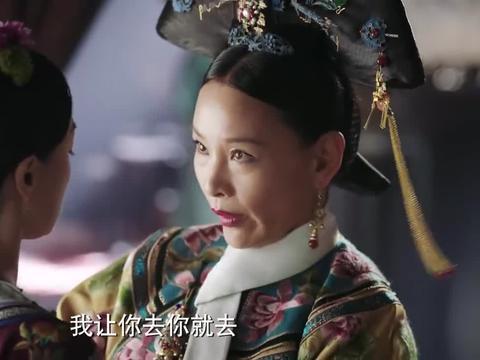 如懿传:青璎说与弘历是兄弟,不想当福晋,敷衍皇后一番后告辞