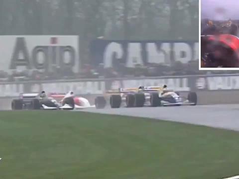 F1历史上最伟大的一圈比赛f1赛车
