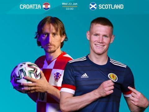 克罗地亚VS苏格兰:要想晋级,克罗地亚要打破两大魔咒